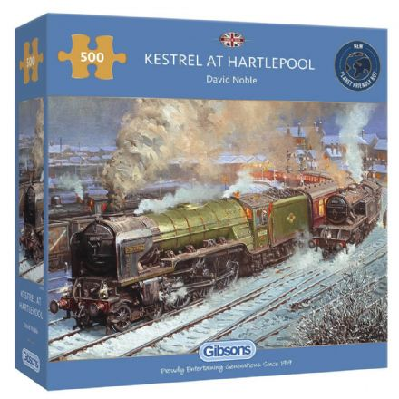 Kestrel at Hartlepool by David Noble 500 Piece Gibsons Jigsaw